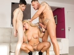 Alexa Blun & Nacho Vidal & Jordi El Nino Polla in Nacho's Fucking Amateurs #04: MILFs Video