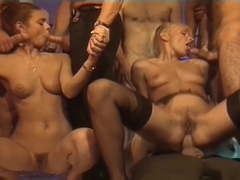 Horny adult video Gangbang hottest full version