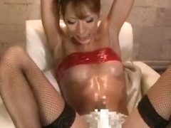 Exotic Japanese whore in Amazing Masturbation, Dildos/Toys JAV movie
