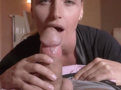 Blonde Mom Kathia Nobili Fucks Son Until He Cums