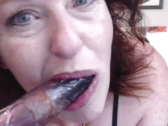 V260 Miss Dawn Fucks a field hand-latino race play and gaggy dildo bj