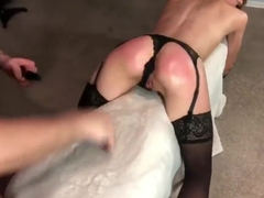 Amateur BDSM - Handcuffed and Fucked Hard