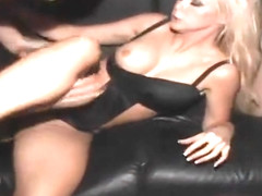 Blonde porn video featuring Dylan Riley, Izy-Bella Blu and Jordan Ash