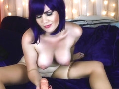 Vera Price Faye Valentine Cosplay Blowjob Creampie in private premium video