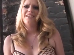 Excellent porn scene Blonde fantastic pretty one