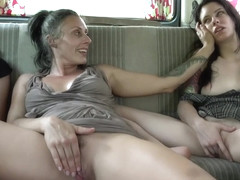 Perverse Family Russian Hitchhikers Fucked On A Road Trip