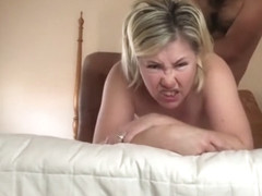 Wife of trump supporter fucked by Mexican hard