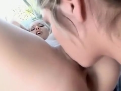 Marlie Moore fucks friend in bath