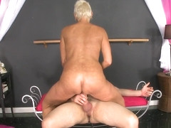 Dick-dancing in Lexy's butthole - Lexy Cougar and Peter Green - 40SomethingMag