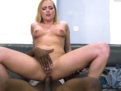 Blonde Cant Resist The Bbc In Her Ass With Kate England