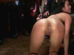20 Yr Old Gets Tied Up For The First Time Ever Fisted, Made To Squirt, Pounded In The Ass, - Publi.