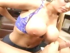 Alanah Rae with hot boobs is acting in cock sucking xxx video