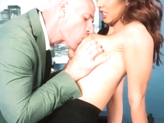 (Isis Love) Sexy Big Tits Office Girl Love Hard Sex clip-16