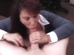 MILF fucks for bail money