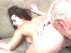Liza Del Sierra Smoking and Feeding Her Butt