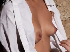 Sweet schoolgirls having sex feat. Tina Kay
