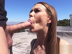 Mofos - Lets Try Anal - Slender Brunettes Tight Asshole star