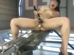 Mellow Mia Li making her fetish dreams come true