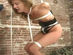 Dazzling Maria Shadoes acting in BDSM video