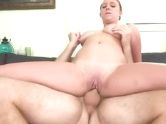 Nice buxomy Brooke Wylde in blowjob video