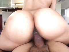Adorable breasty ebony young harlot Kitty Foxxx in private amateur sex tape