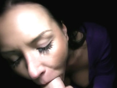 Wonderful cock sucking delights