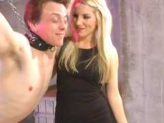 Ashley Fires - Tied Up Ballbusting