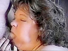 Fat Mature Woman Gets Her Chin Glazed