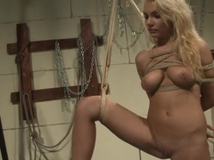 Laura Green gets tied up and demolished
