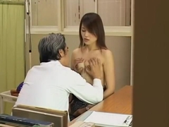 Lovely hairy Japanese broad gets fucked