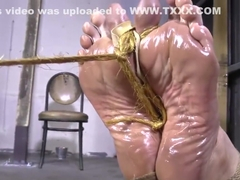 Ariel Anderssen tight hogtied part 4