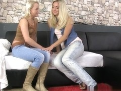Candi Peach and Puppy and Whitney Conroy in HD Pissing Video Map On Jeans