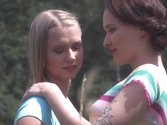 One Hot Summer Episode 2 - Summer Escape - Sasha Sparrow & Violette Pink - VivThomas