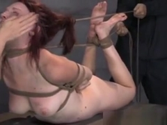 Hair Bondage Sub Face Slapped