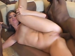 Beauteous Valerie Luxe is sucking cock hard