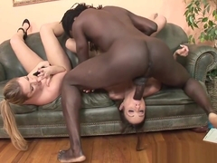 White Whore Gets Anal Gap Destroyed By Throbbing Black Rod