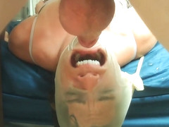 Encased Facefuck - Milf Abuse