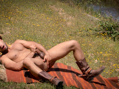 Leo Forte in Alone On The Range, Scene #10