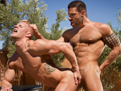 Johnny V & Letterio Amadeo in Sidewinder, Scene #03 - HotHouse