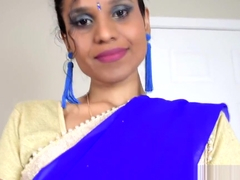 Indian MILF wants son to sniff her dirty panty and fuck her ass