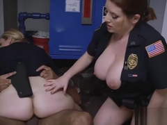 MILF police trio stretched with BBC