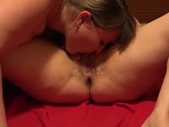 Deep anal fisting and a gaping hole in the ass bring lesbians pleasure after gently licking a hair.