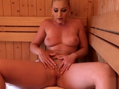 Seduced By Hot Milf In Sauna (KN)
