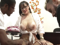 Angel Lima in AT CLASS TIME THE WHORING ROLLS LOOSE WITH ANGEL IN HD