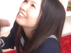 Fabulous Japanese whore Nozomi Kashiwagi in Exotic Blowjob, Threesome JAV scene