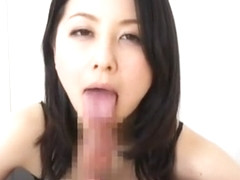 Exotic Japanese slut Ayumi Iwasa in Crazy Blowjob, Teens JAV video