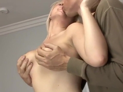 Blonde MILF with perfect body banged hard