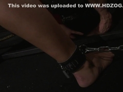 Have beauty smalltits dominated dungeon sub in does not leave