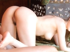 Sexy Beata Undine making an amazing foot feish video