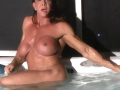 sexy female bodybuilder video